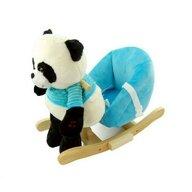 NEFERE - Balansoar Panda din Plus, Plus, Albastru