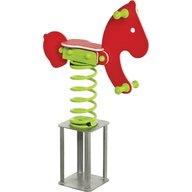 Kbt - KBT - Balansoar pe arcuri hdpe ponei cu prindere in beton Rosu