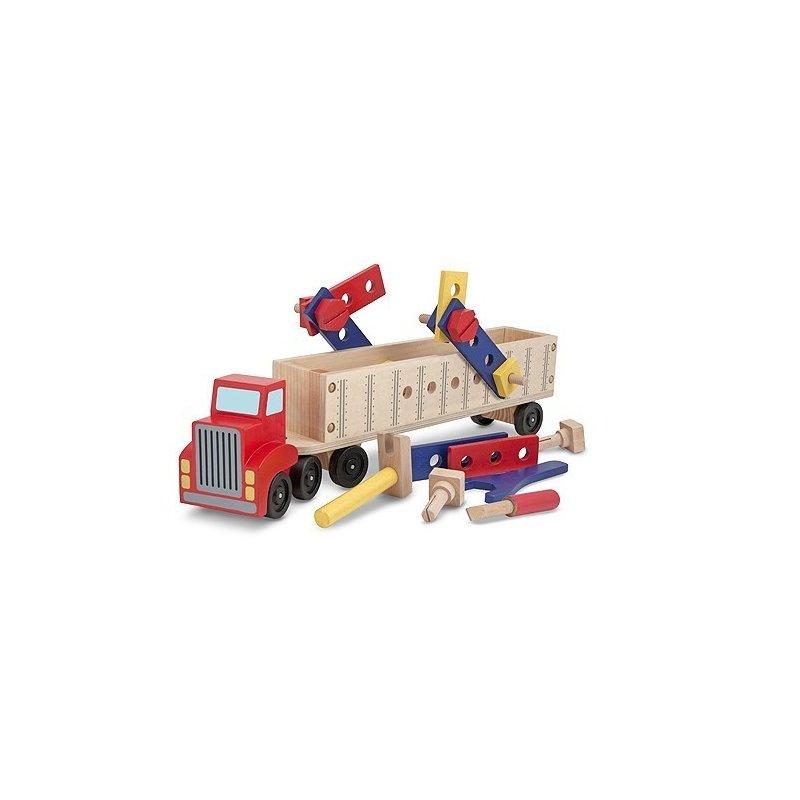 Banc de lucru mobil Camion cu unelte Melissa and Doug din categoria Jucarii de lemn de la Melissa & Doug