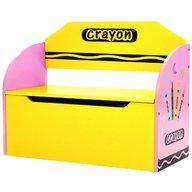 Style - Bancuta pentru depozitare jucarii Crayon, Pink