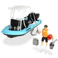 Dickie Toys - Barca de pescuit Playlife cu figurina si accesorii