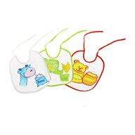 Sunny Baby - Set Bavete cu snur 3 buc, PVC din Bumbac