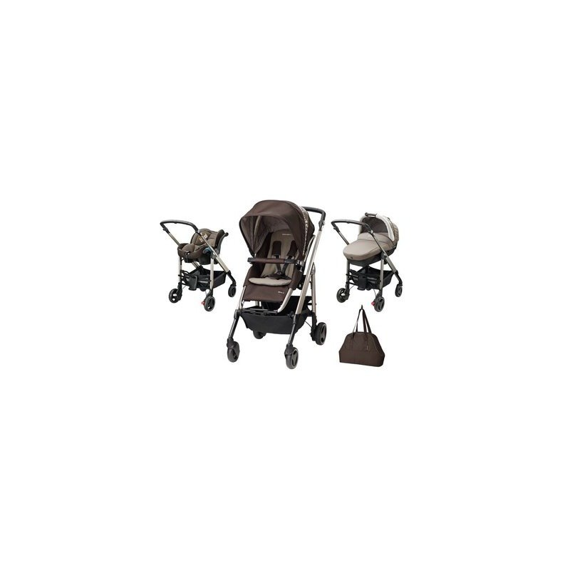 Bebe Confort Carucior Trio Loola Excel Earth Brown din categoria Carucioare copii de la Bebe Confort