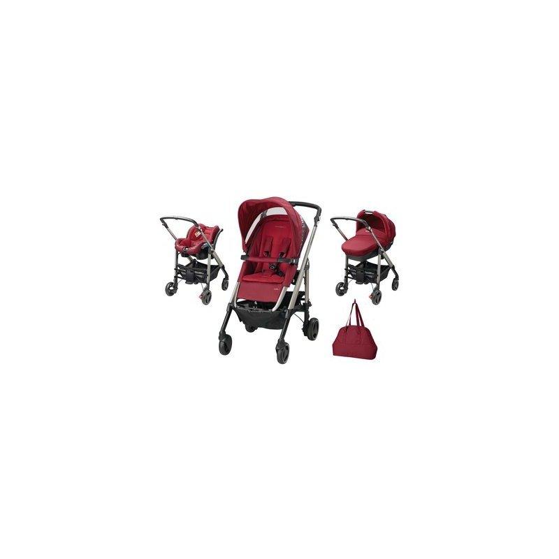 Bebe Confort Carucior Trio Loola Excel Robin Red din categoria Carucioare copii de la Bebe Confort