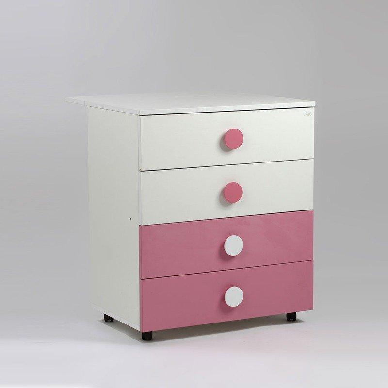 Bebe Design Comoda Clasica Roz din categoria Mobila si decoratiuni de la Bebe Design