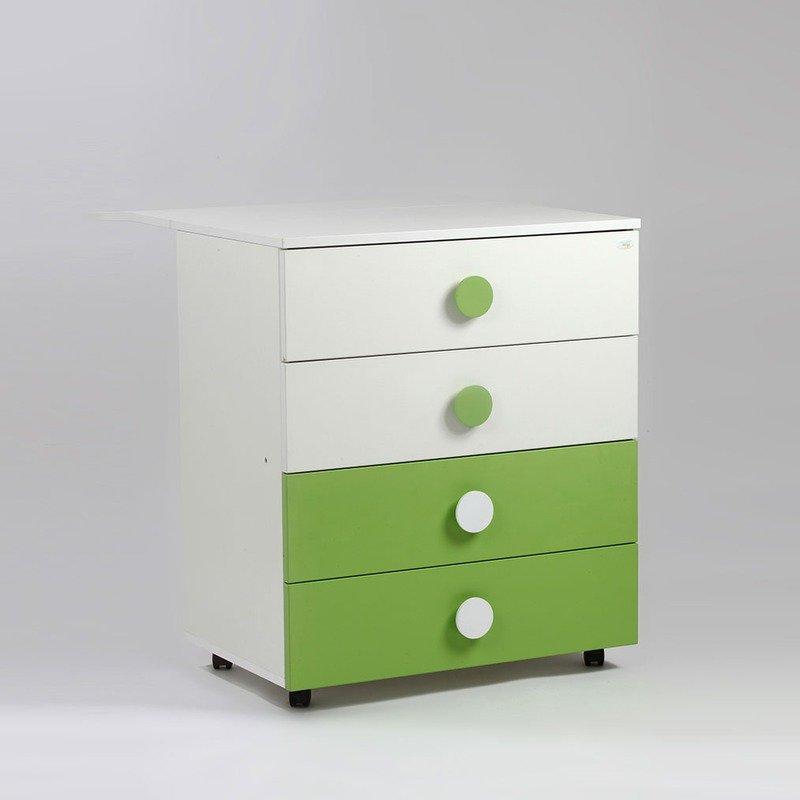 Bebe Design Comoda Clasica Verde din categoria Mobila si decoratiuni de la Bebe Design