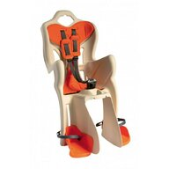 Bellelli - Scaun de bicicleta B-One Standard Multifix Pentru copii pana la 22 kg, Bej