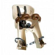 Bellelli - Scaun de bicicleta Freccia B-Fix Pentru copii pana la 15 kg, Bej
