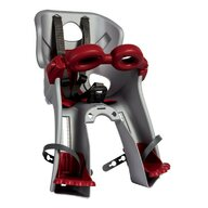 Bellelli - Scaun de bicicleta Freccia B-Fix Pentru copii pana la 15 kg, Gri