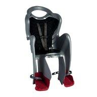 Bellelli - Scaun de bicicleta Mr Fox Standard B-Fix Pentru copii pana la 22 kg, Gri