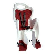 Bellelli - Scaun de bicicleta Mr Fox Standard B-Fix Pentru copii pana la 22 kg, Alb