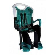Bellelli - Scaun de bicicleta Tiger Clamp Pentru copii pana la 22 kg, Alb/Turcoaz