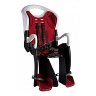 Bellelli - Scaun de bicicleta Tiger Standard B-Fix Pentru copii pana la 22 kg, Alb/Rosu