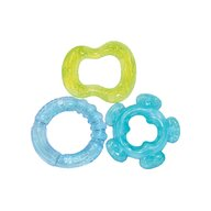 Lorelli - Set 3 jucarii de dentitie bebelusi, 3 luni+, diferite forme