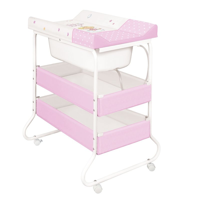 Bertoni Set de baie SUZI Litlle Angel White&Pink din categoria Cadite si suporturi cadite de la BERTONI