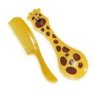 Bertoni Set pieptan + perie Girafa 2970
