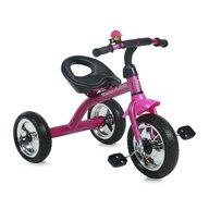 Bertoni - Tricicleta pentru copii A28 roti mari Pink Black