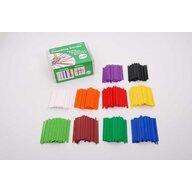 Edx Education - Set Betisoare In cutie, 1000 buc, Pentru numarat, Multicolor