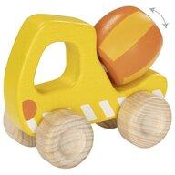 Goki - Vehicul de lemn Betoniera Pentru joc de rol