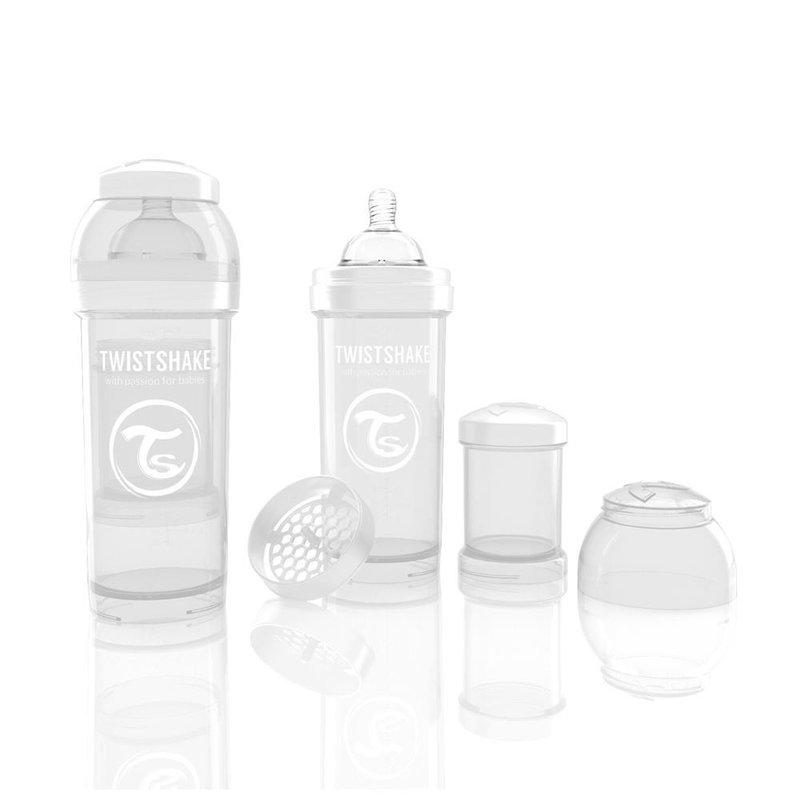 Twistshake Biberon Anti-colici 260 ml Alb din categoria Biberoane de la Twistshake