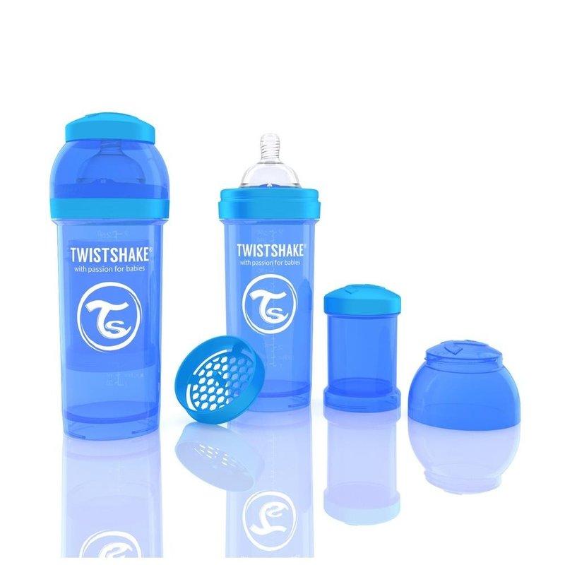 Twistshake Biberon Anti-colici 260 ml Albastru din categoria Biberoane de la Twistshake