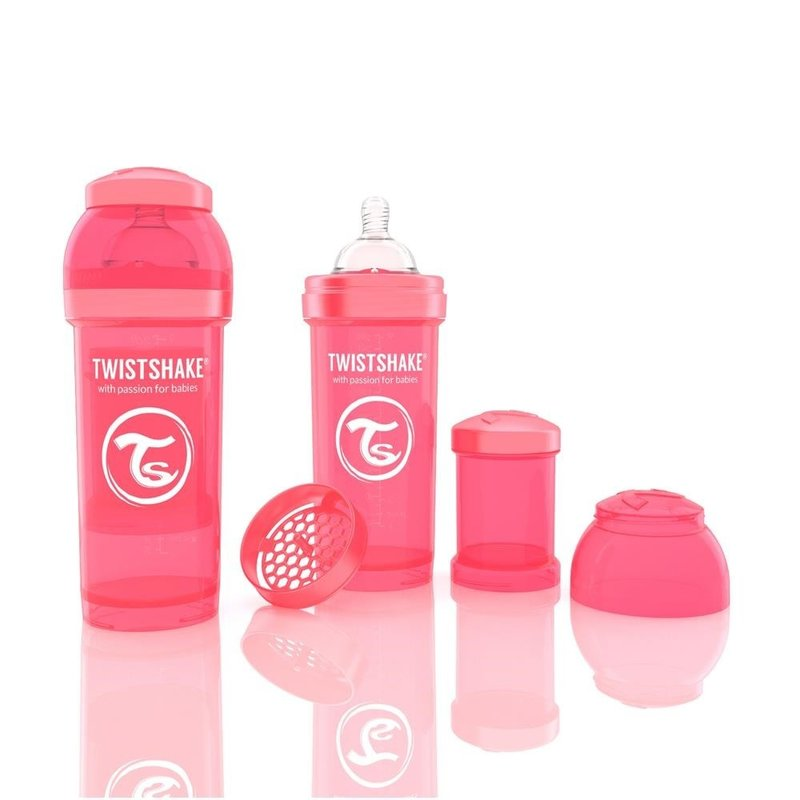 Twistshake Biberon Anti-colici 260 ml Piersica din categoria Biberoane de la Twistshake