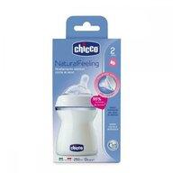 Chicco - Biberon  STEP UP, 250ml, t.s., flux mediu, 2luni+, 0%BPA