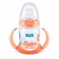 Nuk - NUK - Biberon  First Choice Beach Edition cu toarte 150ml Nude