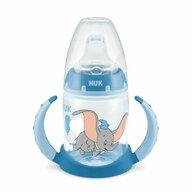 Nuk - Biberon First Choice Cu toarte, 6-18 luni, Tetina de invatare Disney Dumbo din Polypropilena (Pp) 150 ml