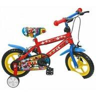 Saica - Bicicleta cu pedale Comic Cu roti ajutatoare