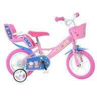 Dino Bikes - Bicicleta cu pedale , Purcelusa Peppa, 12