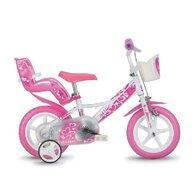 Dino Bikes - Bicicleta cu pedale RNL Inimioare, 12