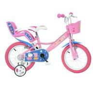 Dino Bikes - Bicicleta cu pedale , Purcelusa Peppa, 14