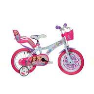 Dino Bikes - Bicicleta cu pedale Barbie la plimbare, 16