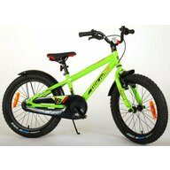 EandL Cycles - Bicicleta cu pedale Rocky, 18 inch, Verde