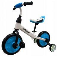 R-Sport - Bicicleta cu pedale P1 Cu roti ajutatoare, Albastru