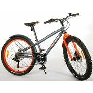 EandL Cycles - Bicicleta cu pedale Rocky Cu 6 viteze, Portocaliu