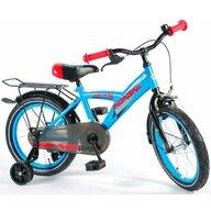 EandL Cycles - Bicicleta cu pedale Thombike Cu roti ajutatoare, Albastru