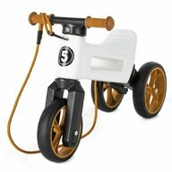 FUNNY WHEELS RIDER - Bicicleta fara pedale SuperSport 2 in 1, Maro