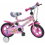 Saica - Bicicleta cu pedale Girl Cu roti ajutatoare Paw Patrol