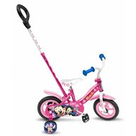 Stamp - Bicicleta Minnie 10 '', cu bara de impins