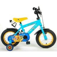 Volare - Bicicleta cu pedale Toy Story Cu roti ajutatoare, Frana de mana, Sticla apa