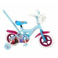 Volare - Bicicleta cu pedale Cu roti ajutatoare, Frana de mana Disney Frozen 2
