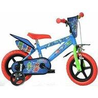 Dino Bikes - Bicicleta cu pedale 412UL-PJ , Disney Pj Masks, 12
