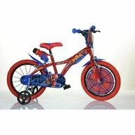 Dino Bikes - Bicicleta cu pedale 616SM , Spiderman, 16