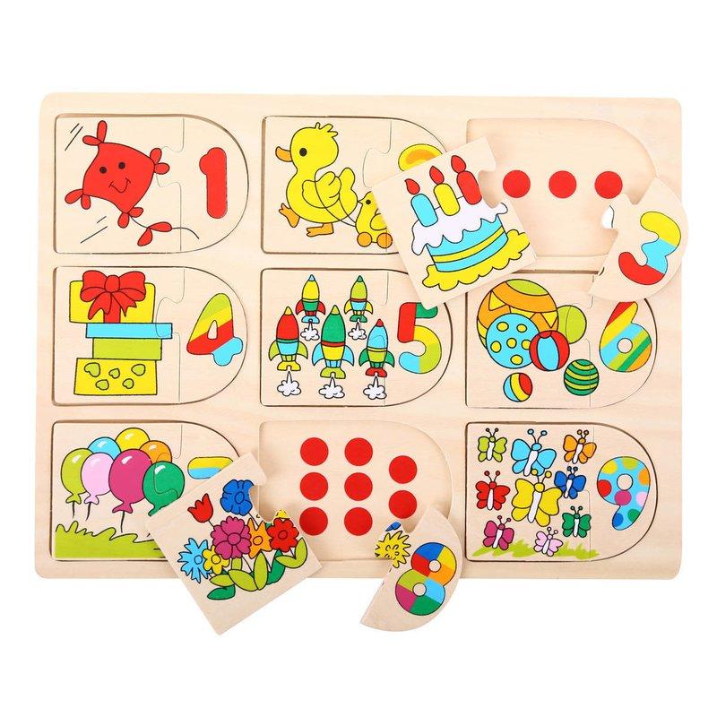 BigJigs Puzzle – Potriveste-ma la locul meu din categoria Puzzle copii de la BigJigs