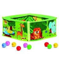 Bino - Loc de joaca, cu 50 bile colorate