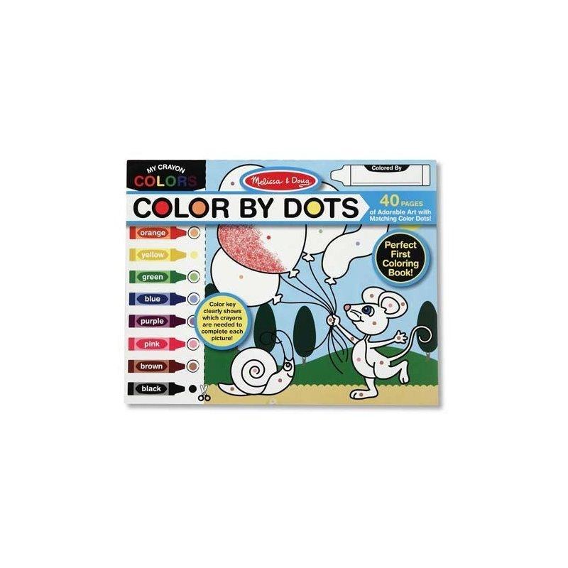 Melissa and Doug bloc cu desene de colorat