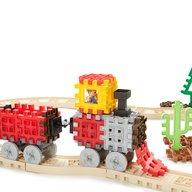 Little Tikes - Blocuri de constructie Tren cu aburi