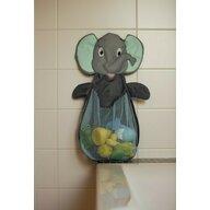 Bo Jungle - Plasa elefant pentru depozitare jucarii de baie